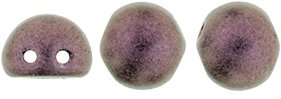 CzechMates Cabochon 7mm: Metallic Suede - Pink