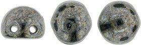 CzechMates Cabochon 7mm: Hematite