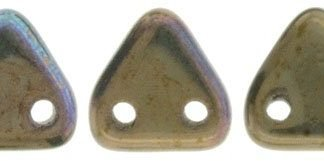 CzechMates Triangle: Oxidized Bronze Clay