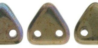 CzechMates Triangle: Oxidized Bronze Clay