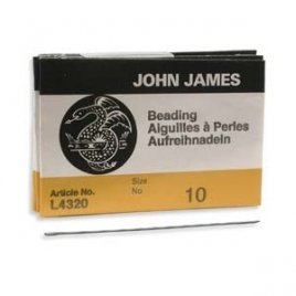 John James: beading naalden #10