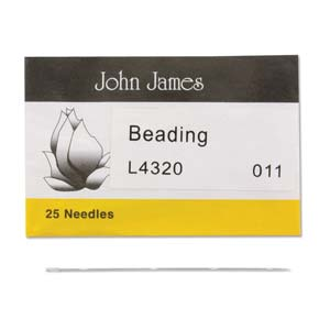 John James: beading naalden #11