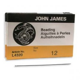 John James: beading naalden #12