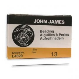 John James: beading naalden #13