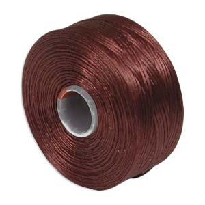 S-Lon bead cord D: Burgundy