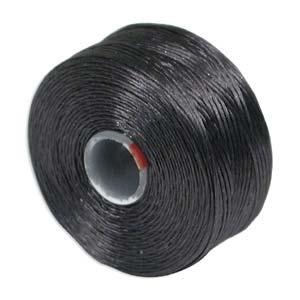 S-Lon bead cord D: Charocoal Grey