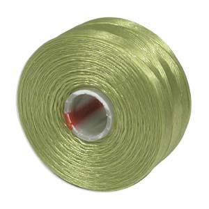 S-Lon bead cord D: Chartreuse
