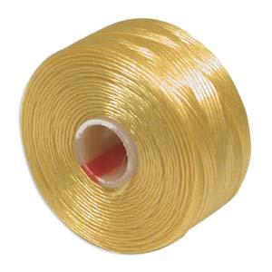 S-Lon bead cord D: Golden Yellow