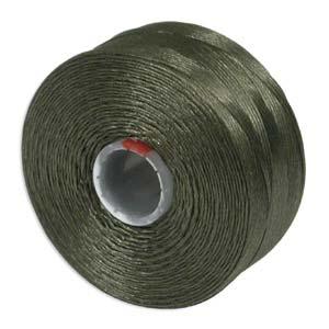 S-Lon bead cord D: Olive