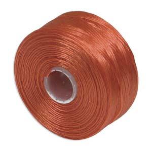 S-Lon bead cord D: Orange