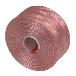 S-Lon bead cord D: Pink
