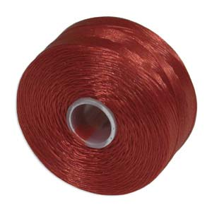 S-Lon bead cord D: Red