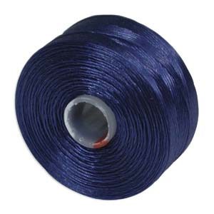 S-Lon bead cord D: Royal Blue