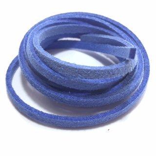 Suedine veter: ijsblauw