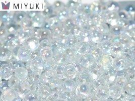 Miyuki Drops kralen zijn te koop bij kralenwinkel Limited Edition in Den Haag, waaronder ook de kleur 0250 Crystal AB.