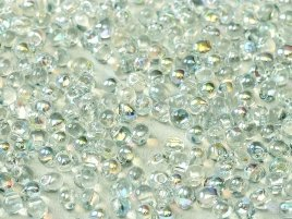 Miyuki Drops kralen zijn te koop bij kralenwinkel Limited Edition in Den Haag, waaronder ook de kleur 55025 Crystal Blue Rainbow.