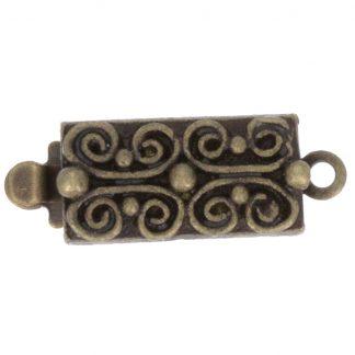 De metalen sloten van Claspgarten zijn mooi in kwaliteit en zijn te koop bij kralenwinkel Limited Edition in Den Haag in de maat 13495-01-50.
