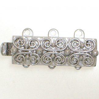 De metalen sloten van Claspgarten zijn mooi in kwaliteit en zijn te koop bij kralenwinkel Limited Edition in Den Haag in de maat 13495-03-06.