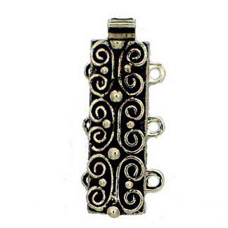 De metalen sloten van Claspgarten zijn mooi in kwaliteit en zijn te koop bij kralenwinkel Limited Edition in Den Haag in de maat 13495-03-25.