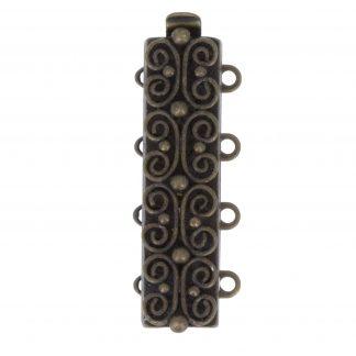 De metalen sloten van Claspgarten zijn mooi in kwaliteit en zijn te koop bij kralenwinkel Limited Edition in Den Haag in de maat 13495-04-50.
