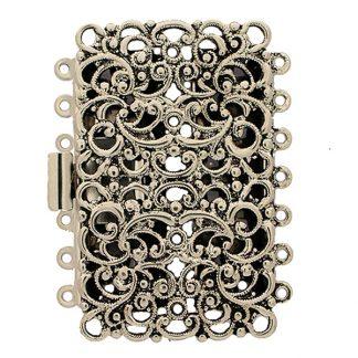 De metalen sloten van Claspgarten zijn mooi in kwaliteit en zijn te koop bij kralenwinkel Limited Edition in Den Haag in de maat 14698-07-25.