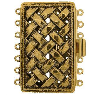 De metalen sloten van Claspgarten zijn mooi in kwaliteit en zijn te koop bij kralenwinkel Limited Edition in Den Haag in de maat 14746-07-26.
