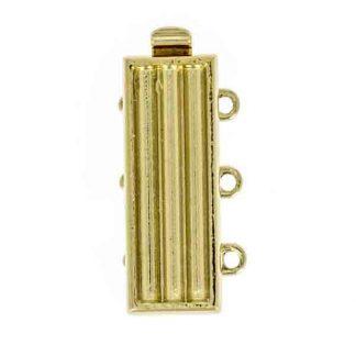 De metalen sloten van Claspgarten zijn mooi in kwaliteit en zijn te koop bij kralenwinkel Limited Edition in Den Haag in de maat 14843-03-01.