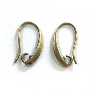 Deze mooie oorsieraden van Designer Quality zijn te koop bij kralenwinkel Limited Edition in Den Haag in de kleur antiek brons.