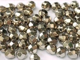 De glazen Fire Polished beads worden veel gebruikt in sieraden patronen en zijn te koop bij kralenwinkel Limited Edition in Den Haag in de kleur 23980-27500.