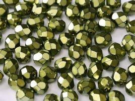 De glazen Fire Polished beads worden veel gebruikt in sieraden patronen en zijn te koop bij kralenwinkel Limited Edition in Den Haag in de kleur 23980-34544.
