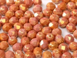 De glazen Fire Polished beads in de maat 6mm worden veel gebruikt in sieraden patronen en zijn te koop bij kralenwinkel Limited Edition in Den Haag in de kleur 03000-14495.