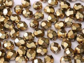 De glazen Fire Polished beads in de maat 6mm worden veel gebruikt in sieraden patronen en zijn te koop bij kralenwinkel Limited Edition in Den Haag in de kleur 23980-34425.