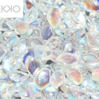 De gekko glaskraal is leuk om te gebruiken in sieraad patronen en is te koop bij kralenwinkel Limited Edition in Den Haag in de kleur 00030-28703.