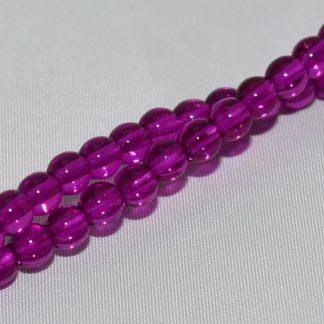 Deze ronde glaskralen worden vaak gebruikt in armband of ketting patronen en zijn te koop bij kralen winkel Limited Edition in Den Haag in de kleur 00030-67277.