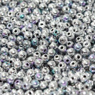 Deze ronde 3mm glaskralen worden vaak gebruikt in armband of ketting patronen en zijn te koop bij kralen winkel Limited Edition in Den Haag in de kleur 00030-98553.