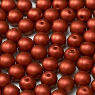 Deze ronde glaskralen worden vaak gebruikt in armband of ketting patronen en zijn te koop bij kralen winkel Limited Edition in Den Haag in de kleur 01890.