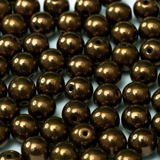 Deze ronde glaskralen worden vaak gebruikt in armband of ketting patronen en zijn te koop bij kralen winkel Limited Edition in Den Haag in de kleur 23980-14415.