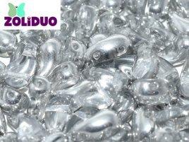 De zoliduo is een glaskraal die veel in patronen van sieraden gebruikt word en is te koop bij kralenwinkel Limited Edition in Den Haag in de maat 00030 Crystal Labrador.