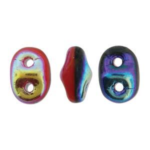 De SuperDuo Duets glaskraal word veel gebruikt in sieraad patronen en is te koop bij kralenwinkel Limited Edition in Den Haag in de kleur 93298-28703.