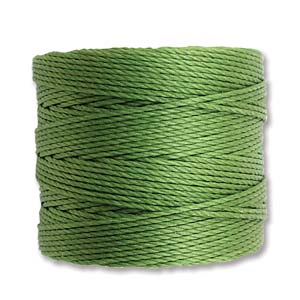 S-Lon bead cord Tex 210: Avocado