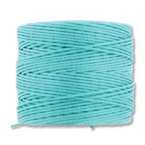 S-Lon bead cord Tex 210: Aqua