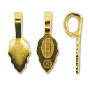 Deze achterkant kan met lijm achter bijvoorbeeld een cabochon geplakt worden zodat er een hanger gemaakt van kan worden en is te koop bij kralenwinkel Limited Edition in Den Haag in de kleur goud.
