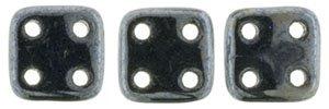 De CzechMates QuadraTile glaskraal word veel gebruikt in sieraad patronen en is te koop bij kralenwinkel Limited Edition in Den Haag in de kleur L23980.