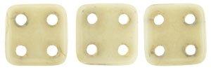 De CzechMates QuadraTile glaskraal word veel gebruikt in sieraad patronen en is te koop bij kralenwinkel Limited Edition in Den Haag in de kleur LC02010.