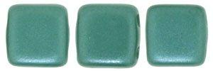 De Tile Bead van het merk CzechMates is 6mm en leuk te combineren met andere two hole beads en is te koop bij kralenwinkel Limited Edition in Den Haag in de kleur 25027AL.