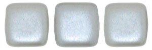 De Tile Bead van het merk CzechMates is 6mm en leuk te combineren met andere two hole beads en is te koop bij kralenwinkel Limited Edition in Den Haag in de kleur 25028AL.