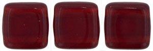De Tile Bead van het merk CzechMates is 6mm en leuk te combineren met andere two hole beads en is te koop bij kralenwinkel Limited Edition in Den Haag in de kleur 90100.