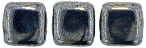 De Tile Bead van het merk CzechMates is 6mm en leuk te combineren met andere two hole beads en is te koop bij kralenwinkel Limited Edition in Den Haag in de kleur L23980.