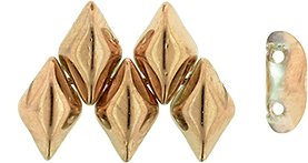 De Gemduo kraal van Matubo is erg leuk om te gebruiken in patroontjes en is te koop bij kralenwinkel Limited Edition in Den Haag in de kleur C00030.