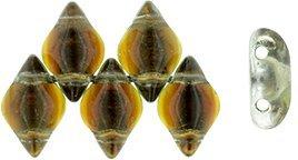 De Gemduo kraal van Matubo is erg leuk om te gebruiken in patroontjes en is te koop bij kralenwinkel Limited Edition in Den Haag in de kleur S11C018.